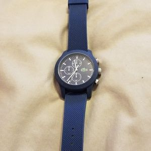 Mens lacoste watch (needs battery)